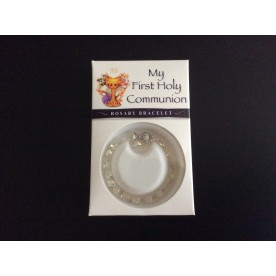 GRB2 First Holy Communion Rosary Bracelet