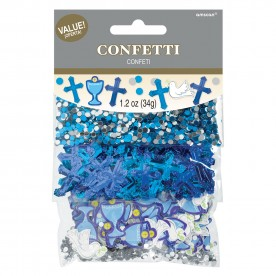 BB6 Blue First Holy Communion Table Confetti