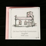 C01 Communion Card - Daughter