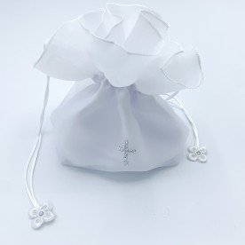 H1 Communion Bag with Diamante Cross