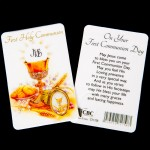 PC3 Communion Prayer Card